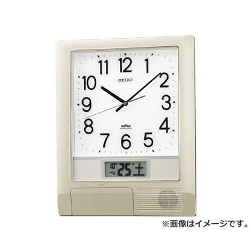 SEIKO 電波プログラムクロック 429×345×57 銀色メタリック PT201S [r20][s9-910]