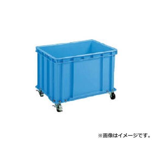 積水 S型コンテナ S-100 キャスター付(自在4ケ内2ケストッパー付き) 青 S100C [r20][s9-910]