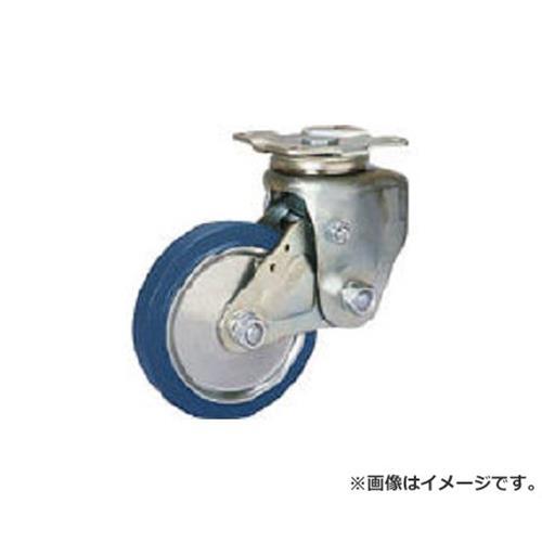シシク 緩衝キャスター 自在 200径 スーパーソリッド車輪 SAJTO200SST [r20][s9-910]
