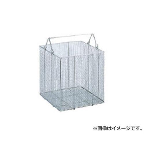 サンワ ステンレス角型洗浄カゴ特大 SK40