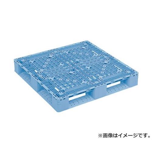 サンコー プラスチックパレット D4ー1010ー2 青 SKD410102BL [r20][s9-910]