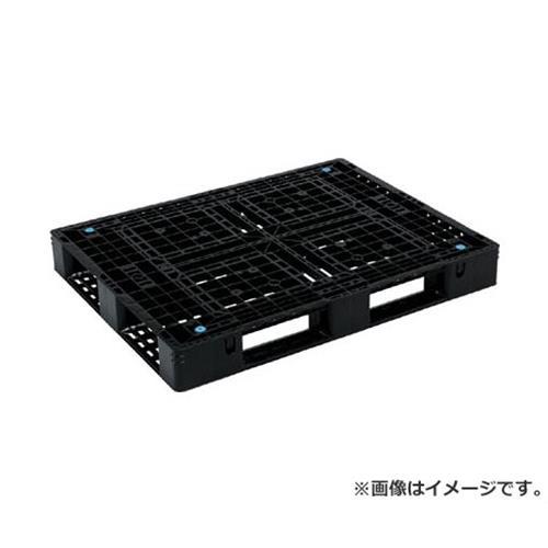 サンコー プラスチックパレット 1300X1000X150 黒 SKD41013BK [r20][s9-910]