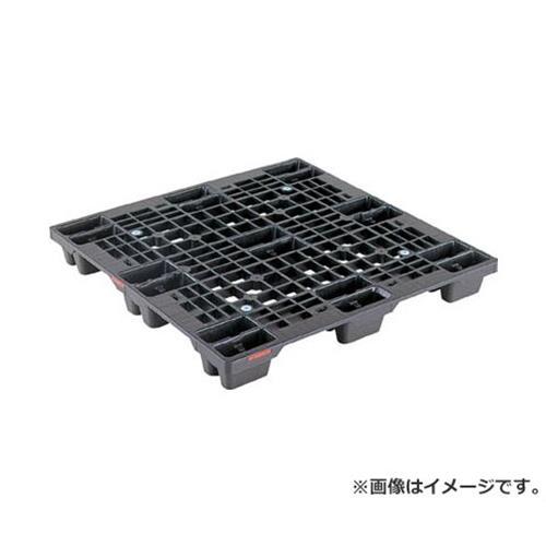サンコー プラスチックパレット SN4ー1111 黒 SKSN41111BK [r20][s9-910]