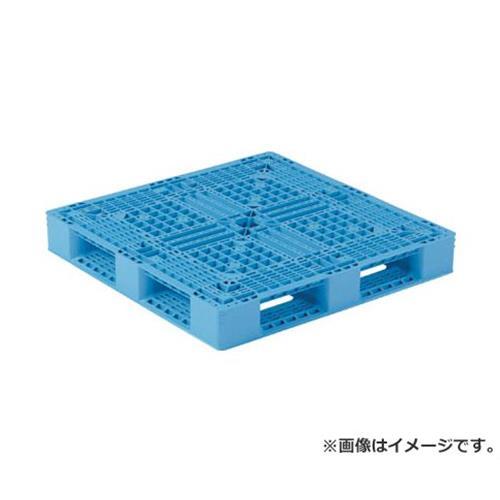 サンコー プラスチックパレット 1100X1100X150 青 SKD4111112BL [r20][s9-910]