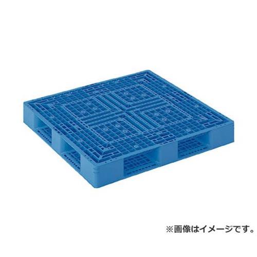 サンコー プラスチックパレット 1200X1200X150 青 SKD412122BL [r20][s9-910]