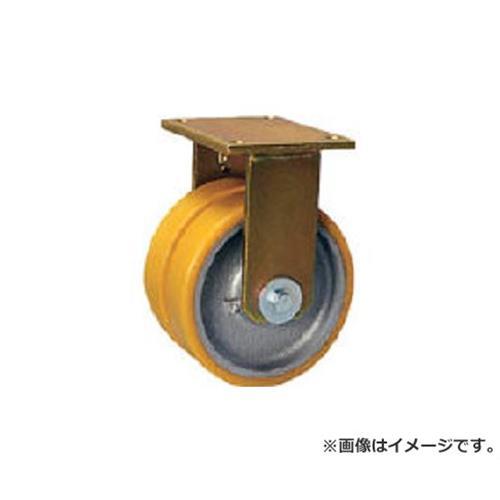 シシク 重荷重用キャスター 固定 200径 ウレタン車輪 BSDGTH200K35 [r22]