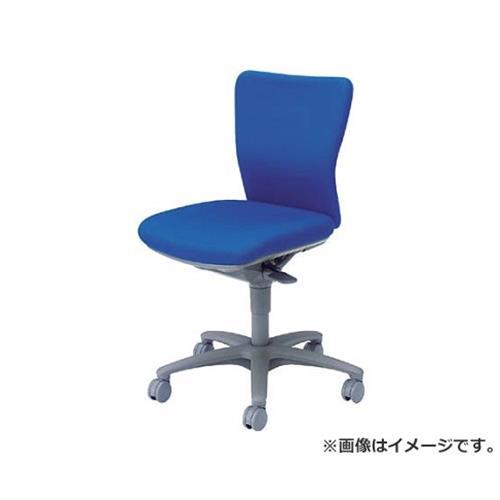 オカムラ 「カロッツァ」 ローバック 肘なし ブルー CK33GRFS16 [r22]