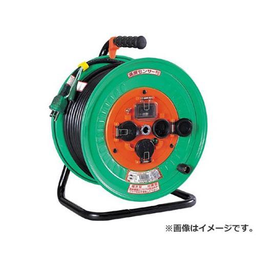日動 電工ドラム 防雨防塵型100Vドラム アース過負荷漏電しゃ断器付 30m NWEK33 [r20][s9-910]