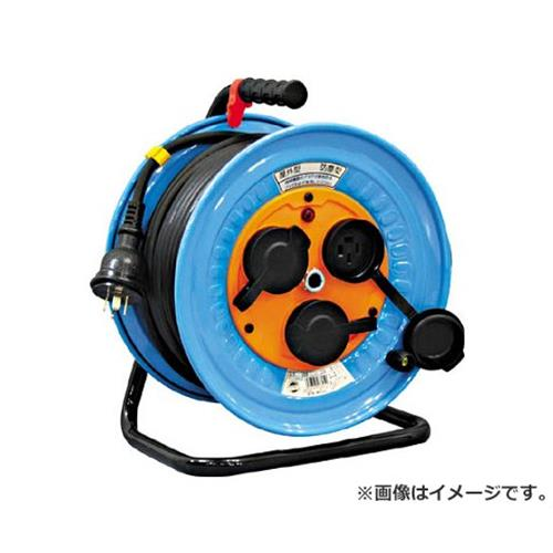 日動 電工ドラム 防雨防塵型三相200V アース付 30m DNWE33020A [r20][s9-920]