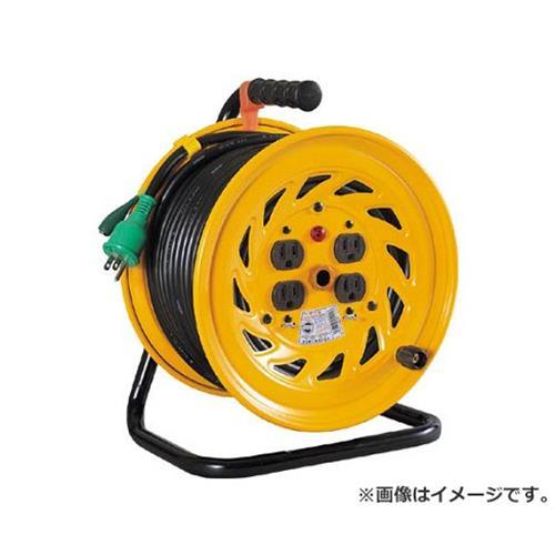 日動 電工ドラム 標準型100Vドラム アース付 30m NFE34 [r20][s9-910]