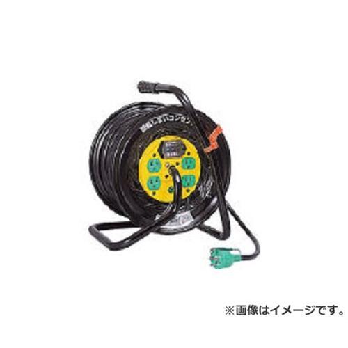 日動 電工ドラム マジックリール 100V アース漏電しゃ断器付 30m ZEB34 [r20][s9-910]