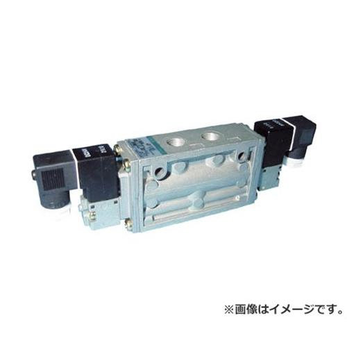 CKD 4Fシリーズパイロット式5ポート弁セレックスバルブ 4F12008AC100V [r20][s9-910]