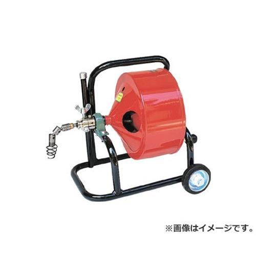 ヤスダ 排水管掃除機F4型キャスター型 F4126 [r20][s9-833]