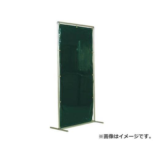 吉野 遮光フェンスアルミパイプ 1×2 単体キャスター ダークグリーン YS12SCDG [r20][s9-910]