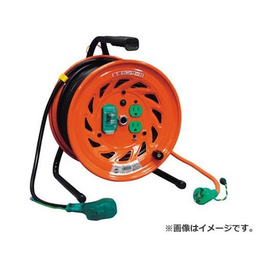 日動 電工ドラム びっくリール 100V アース漏電しゃ断器付 30m RNDEB30S [r20][s9-910]