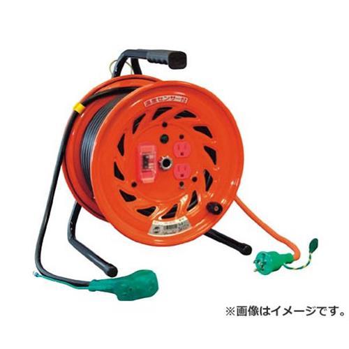 日動 電工ドラム びっくリール 100V アース過負荷漏電しゃ断器付 30m RNDEK30S [r20][s9-910]