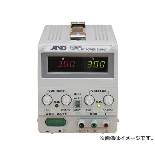 A&D 直流安定化電源トラッキング動作可能LEDデジタル表示 AD8735D [r20][s9-920]