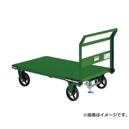 TRUSCO 鋼鉄製運搬車 1400X750 Φ200鋳物車輪 S付 OHN1LS [r21][s9-930]
