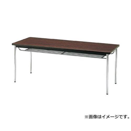 TRUSCO 会議用テーブル 1200X600XH700 丸脚 ローズ TDS1260T (RO) [r20][s9-920]