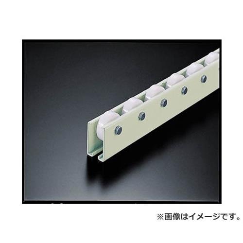 TRUSCO ホイールコンベヤ 樹脂製Φ38X12 P75XL2400 V38N752400 [r20][s9-910]