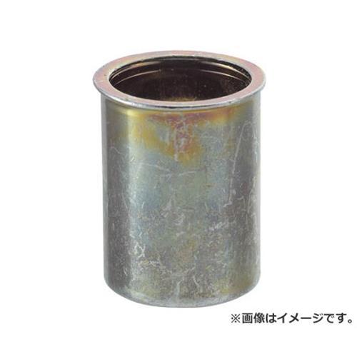 TRUSCO クリンプナット薄頭スチール 板厚2.5 M8X1.25 500入 TBNF8M25SC 500個入 [r20][s9-830]