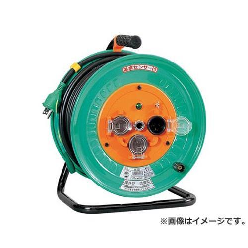 日動 電工ドラム 防雨防塵型100Vドラム アース付 30m NWE33 [r20][s9-910]