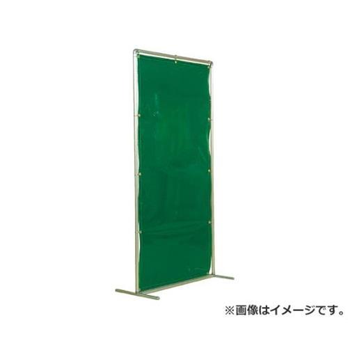 吉野 遮光フェンスアルミパイプ 1×2 単体固定 グリーン YS12SFG [r20][s9-910]