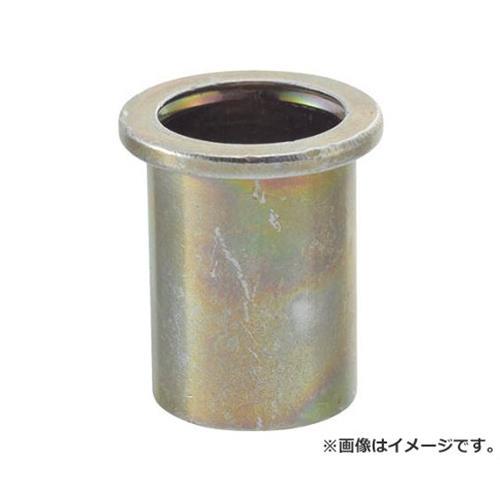 TRUSCO クリンプナット平頭スチール 板厚2.5 M4X0.7 1000入 TBN4M25SC 1000個入 [r20][s9-910]