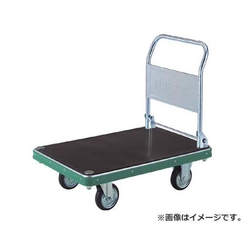 TRUSCO NDハンドトラック 折りたたみ式 ゴム板付 ND9062GMK [r20][s9-920]
