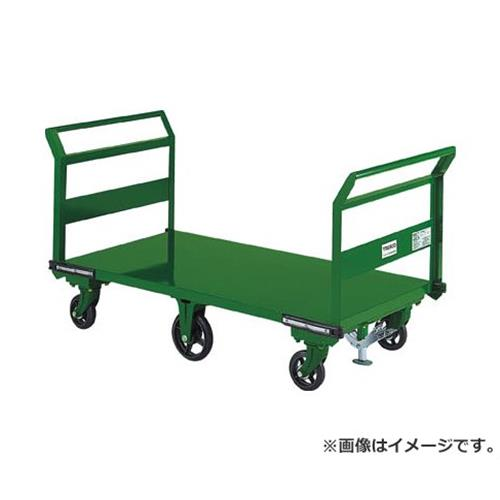 TRUSCO 鋼鉄製運搬車 両袖型 1400X750 鋳物6輪車 S付 SOHN1LWS [r21][s9-940]