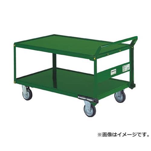 TRUSCO 鋼鉄製運搬車 片袖2段型 1200X750 プレス車 自在側S付 SH1WS [r20][s9-910], HIRO CLOTHING:7a0a2da8 --- i360.jp