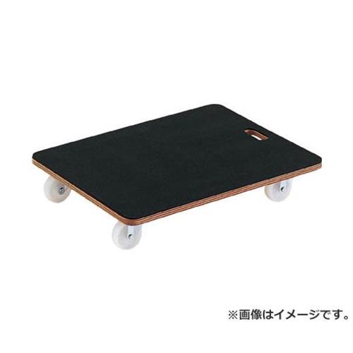 TRUSCO 合板平台車プティカルゴ 600X450 ゴム張り ナイロン車 PCG4560 [r20][s9-830]