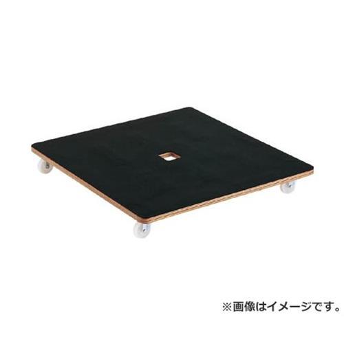 TRUSCO 合板平台車プティカルゴ 900X900 ゴム張り ナイロン車 PCG9090 [r20][s9-910]