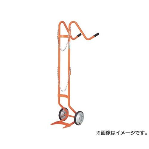 TRUSCO ボンベ台車 二輪型 酸素用ボンベ一本積用 HT63N [r20][s9-910]
