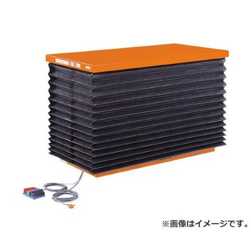 TRUSCO テーブルリフト1000kg 油圧式 750X1350 蛇腹付 HDL1000713J [r21][s9-940]