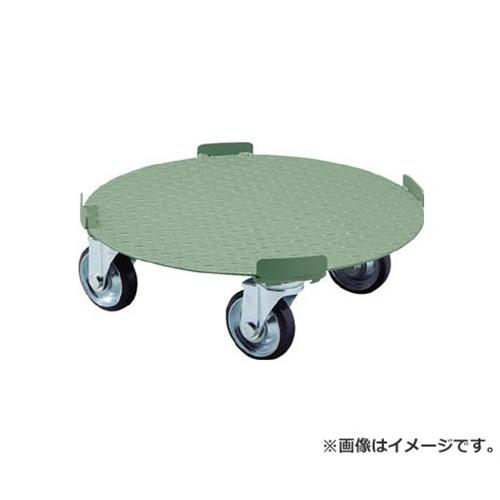 TRUSCO 円形台車 4点ガイド型 荷重500kg 台寸Φ610 RB500 [r20][s9-920]