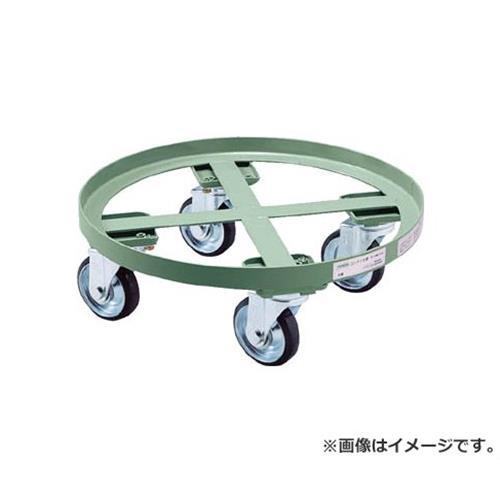 TRUSCO 円形台車 全周ガイド型 荷重500kg 台寸Φ610 RC500 [r20][s9-920]
