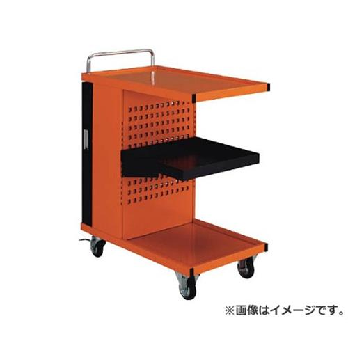 TRUSCO パンチングパネル付ツールワゴン 507X830XH1050 TVD300R [r22]