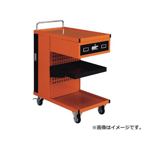 TRUSCO パンチングパネル付ツールワゴン 507X830XH1050 TVD301R [r22]