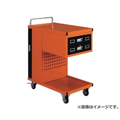 TRUSCO パンチングパネル付ツールワゴン 507X830XH1050 TVD302R [r22]