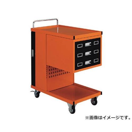 TRUSCO パンチングパネル付ツールワゴン 507X830XH1050 TVD303R [r22][s9-039]