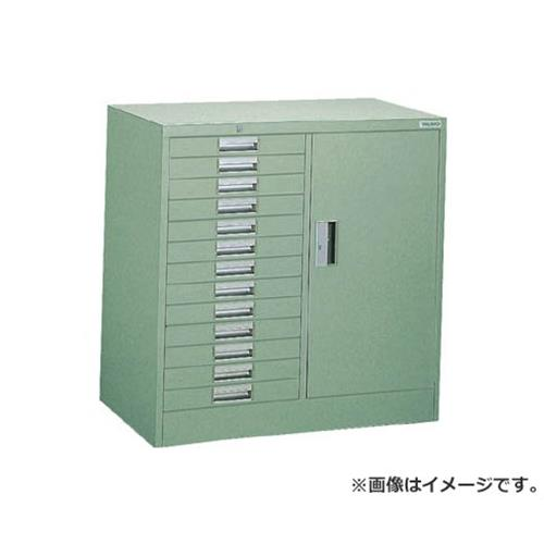 TRUSCO WVR型キャビネット コンビ 880X500XH880 引出13段 WVRCB13 [r22]