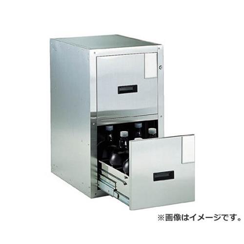 TRUSCO 耐震薬品庫 455X600XH800 2段引出型 SY2 [r20][s9-940]