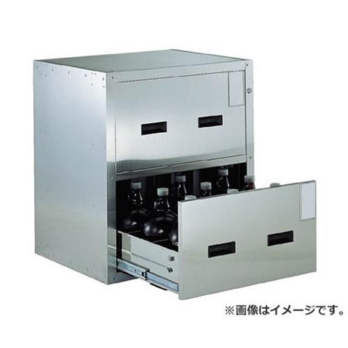 TRUSCO 耐震薬品庫 705X600XH800 2段引出型 SYW2 [r20][s9-940]