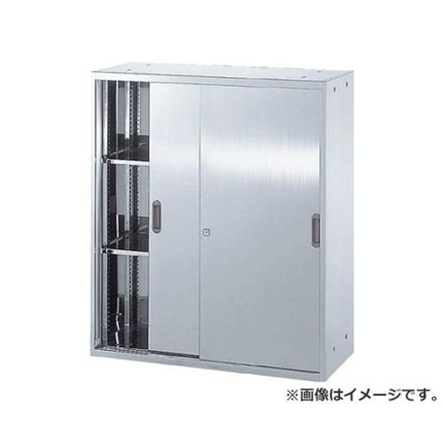 TRUSCO ステンレス保管庫(D400) 引違 900XH1050 STS411 [r20][s9-910]