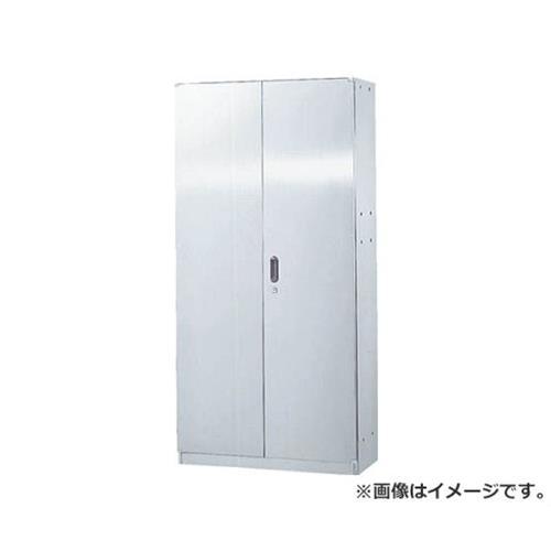 TRUSCO ステンレス保管庫(D400)両開 900XH1830 アジャスター STH418 [r20][s9-940]