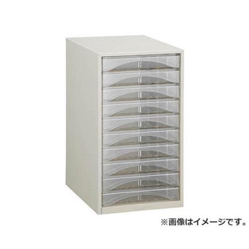 TRUSCO レターケース A4型・浅型タイプ 10段 A4S10P [r20][s9-910]