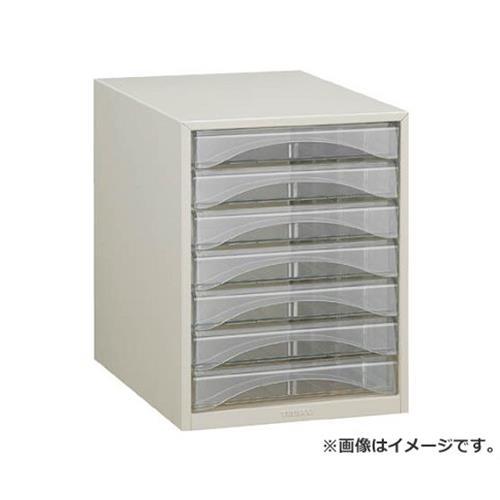 TRUSCO レターケース A4型・浅型タイプ 7段 A4S7P [r20][s9-830]
