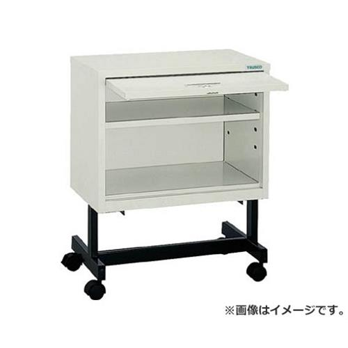 TRUSCO 収納ケース キャスター付 オープン型扉付 KDM502C [r22][s9-039]