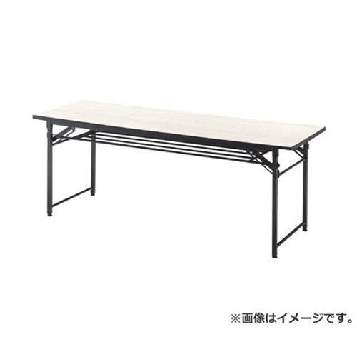 TRUSCO 折りたたみ会議テーブル 1800X600XH700 アイボリー TCT1860 (IV) [r20][s9-830]